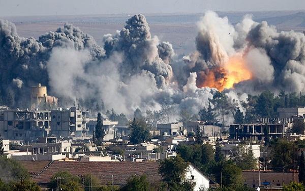 Israeli airstrikes target and kill six Iranian-backed militiamen in Syria