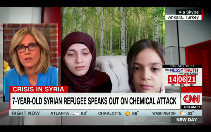 That Time CNN Staged A Fake Interview With A Syrian Child For War Propaganda | by Caitlin Johnstone | Medium