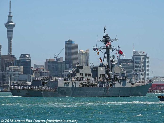 USS Sampson ID 10774