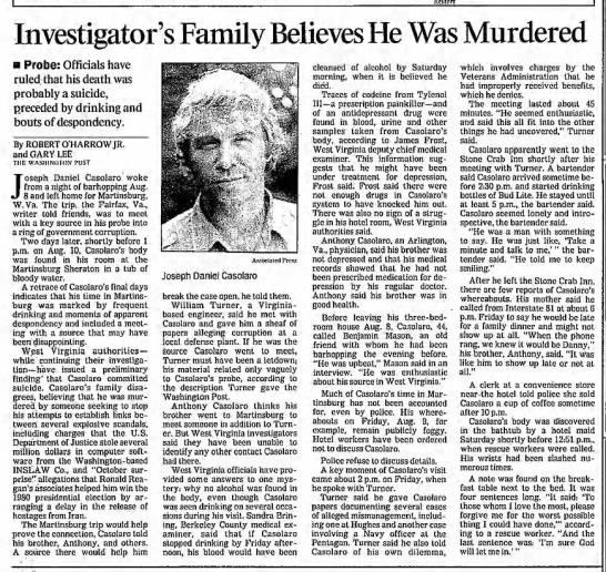 1991 Danny Casolaro - Newspapers.com