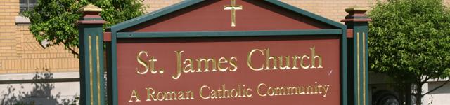 St. James Roman Catholic Church Rotating Header Image