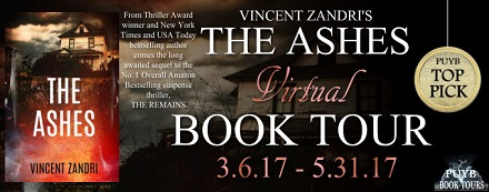 PUYB Blog Tour Review: The Ashes by Vincent Zandri