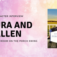 Fun Amish Interview with Laura and Allen from Room On The Porch Swing by Amy Clipston + Giveaway!