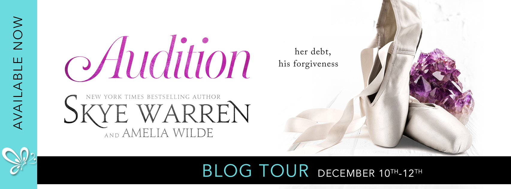 Social Butterly PR Blog Tour: Audition by Skye Warren & Amelia Wilde
