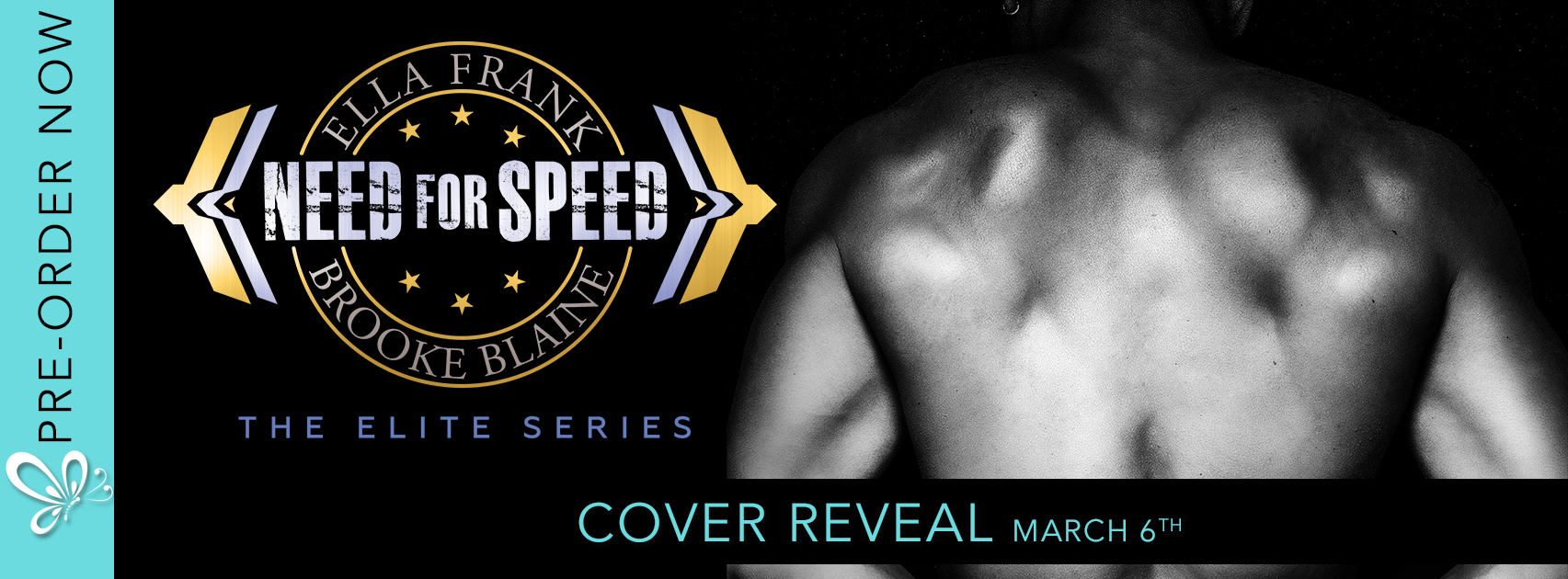 Social Butterfly PR Cover Reveal: Need For Speed by Ella Frank & Brooke Blaine
