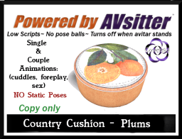 Country Cushion-Oranges by COVETED!