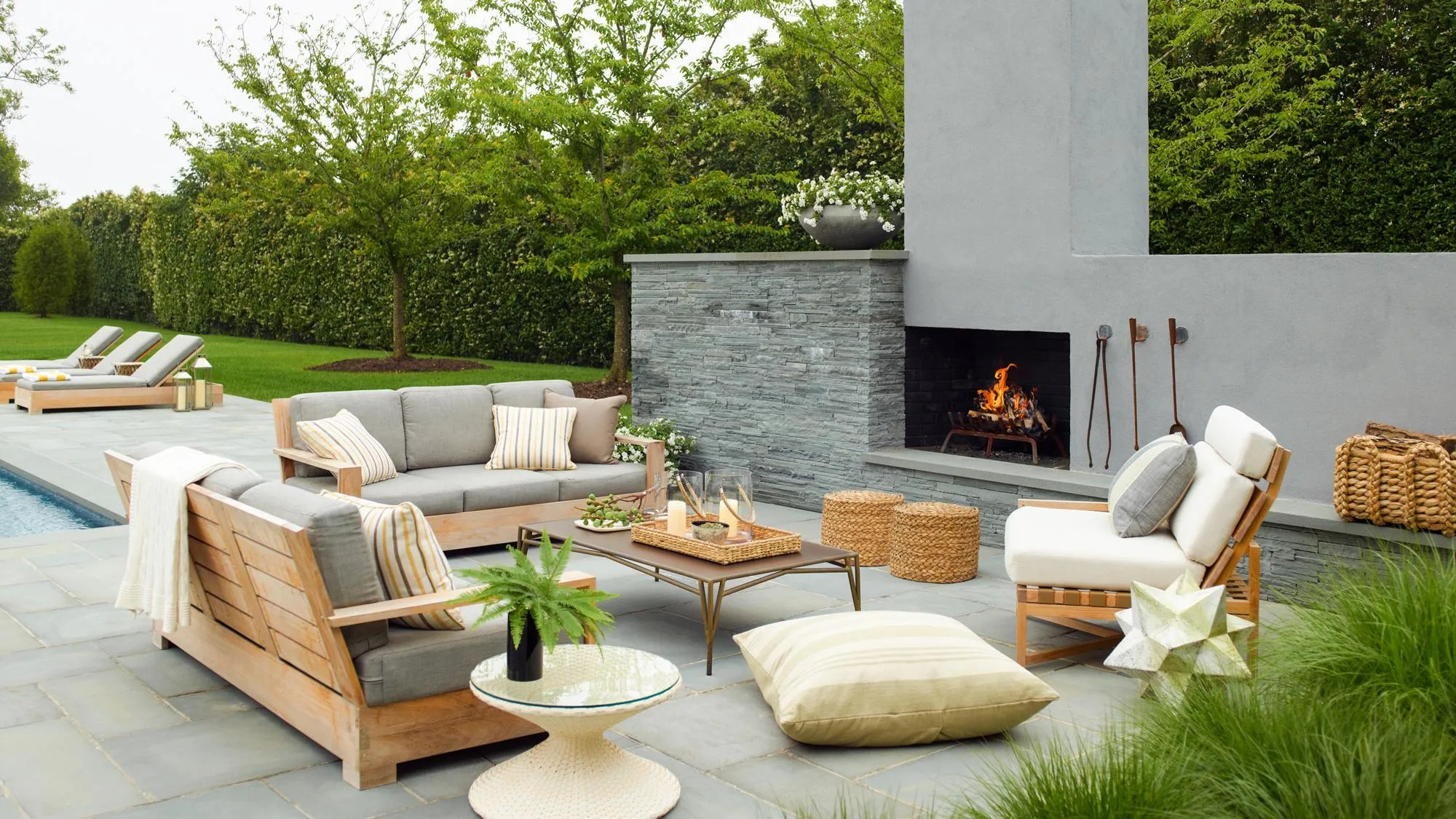 biggest outdoor decor trends