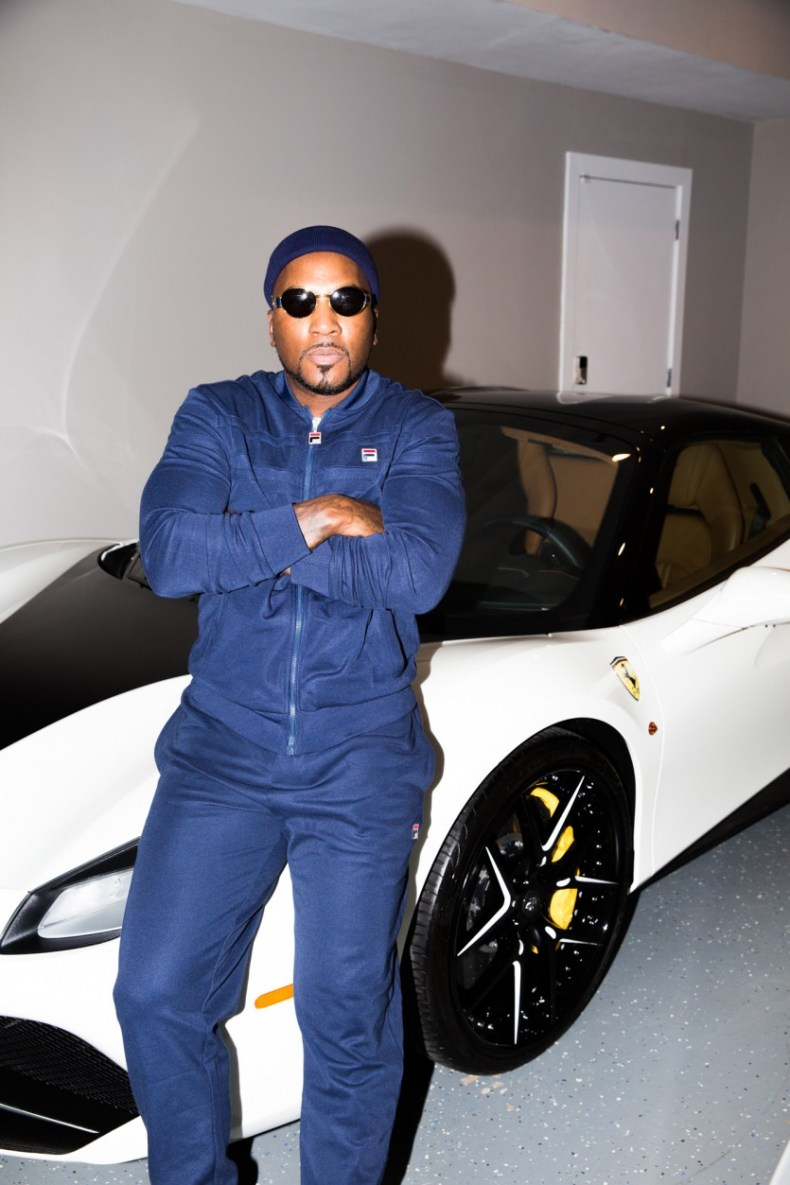 rapper young jeezy shows of his bentley truck and ferrari -