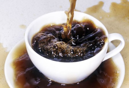 Avoid caffeine to get rid of diarrhea