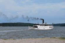 """Steam boat """"S/S Mariefred"""""""