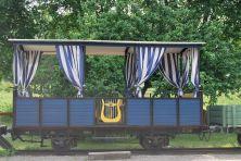 "A more ""royal"" wagon"