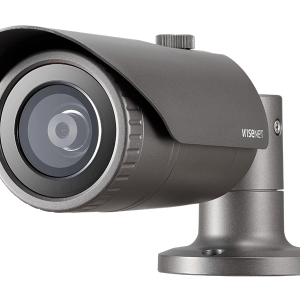 SAMSUNG 4MP Network IR Bullet Camera with 6.0mm fixed Lens IR 30M . POE