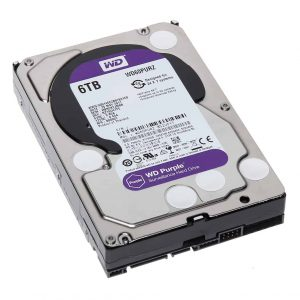 WD PURPLE SURVEILLANCE HARD DRIVE 6TB