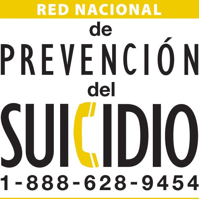 Infographic showing the National Suicide Prevention Hotline
