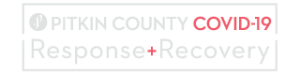 Pitkin County COVID-19 Response & Recovery logo