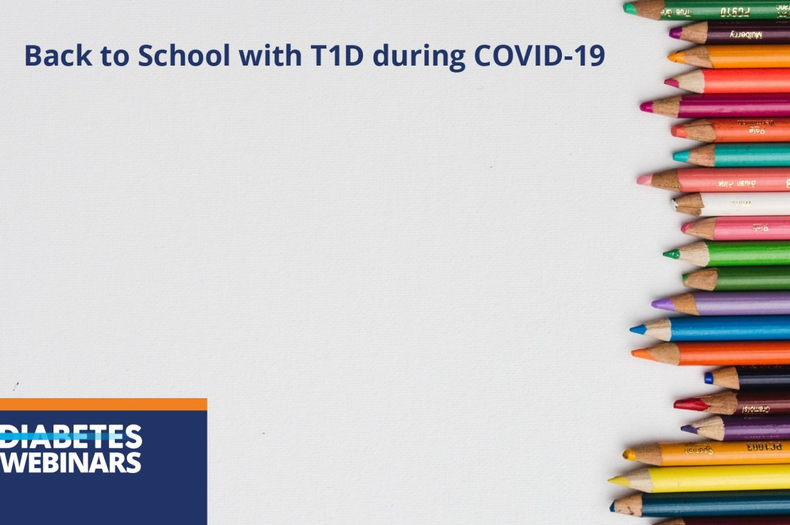 Back to School with type 1 diabetes during Covid-19