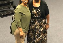 Carletta Gaines and Rita Allen
