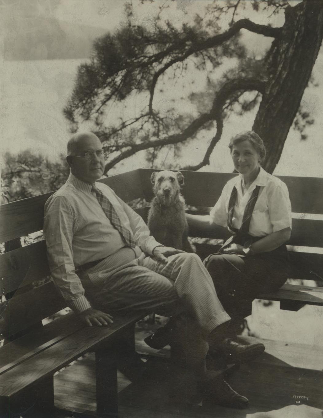 Mr. & Mrs. Robert Moffat Sr.