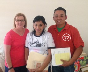 Led two English students to Christ