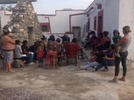 46 people attended our first Bible study at the ranch, but unfortunately it was bc they heard the gringos were there, and maybe they were hoping for handouts. All we had to give them were Bibles.