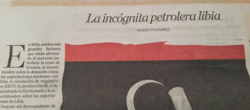 La incógnita petrolera libia – Por Kenneth Ramírez