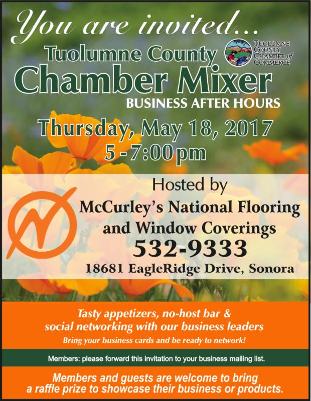 Tuolumne County Chamber of Commerce May Mixer