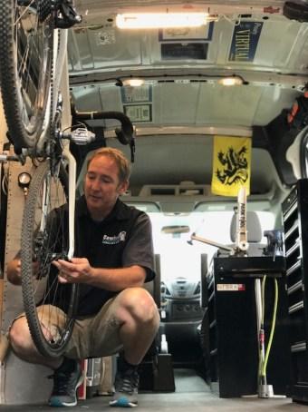 mobile bike shop
