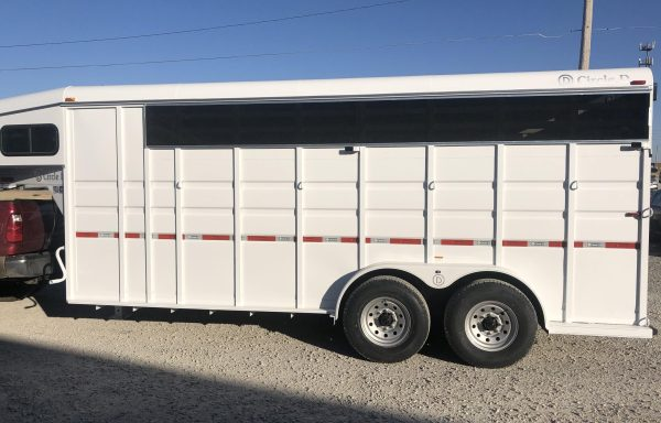 2021 Circle D 18 Ft Stock Combo Trailer