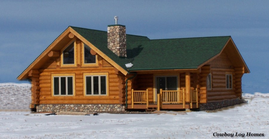 Small Log Cabin Floor Plans and Pictures   Cowboy Log Homes Small Log Cabin Floor Plans and Pictures