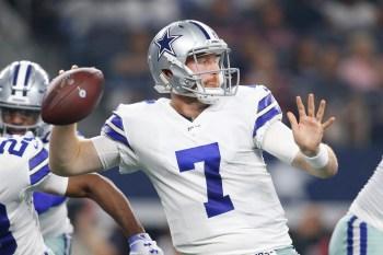 Cowboys lock in backup QB Cooper Rush as Prescott tag looms
