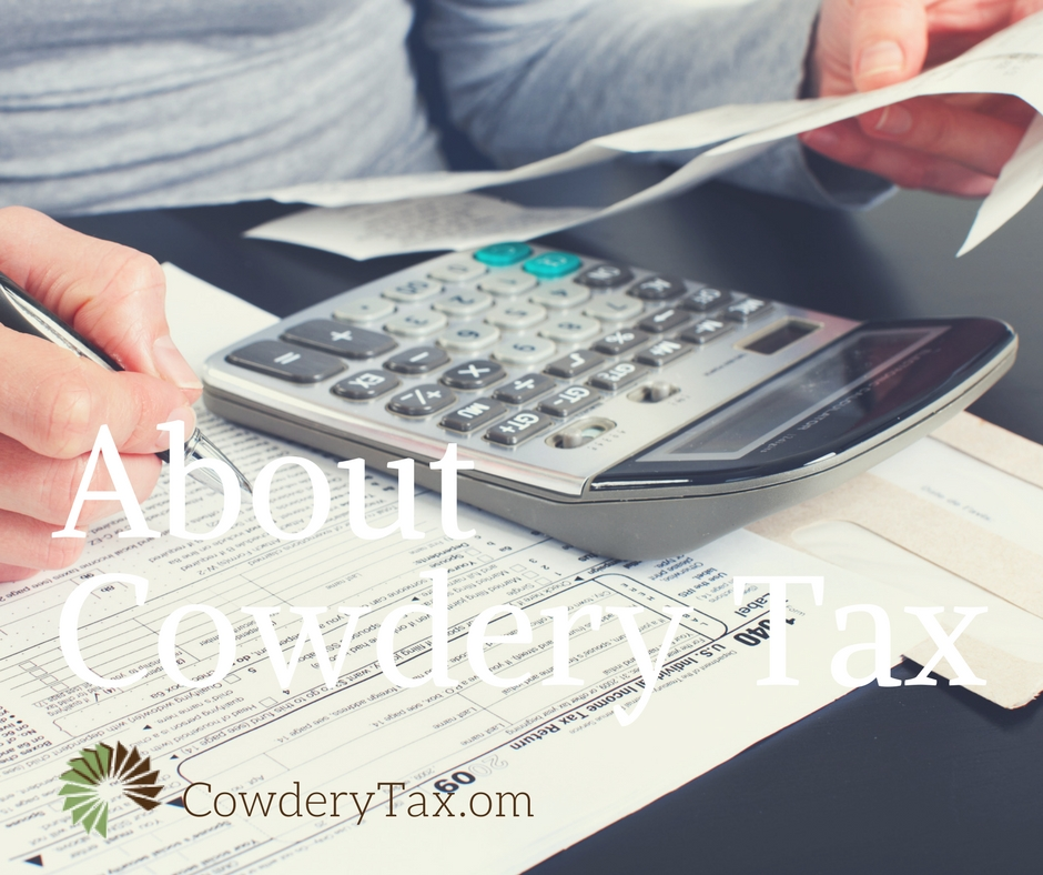 About Cowdery Tax & Business Solutions