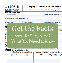 Get the Facts, Form 1095 A, B, or C for 2015, What You Need to Know   CowderyTax.com