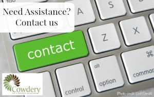Need Assistance Contact Us | CowderyTax.com