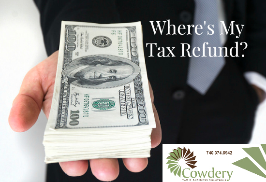 Where's My Tax Refund? | CowderyTax.com