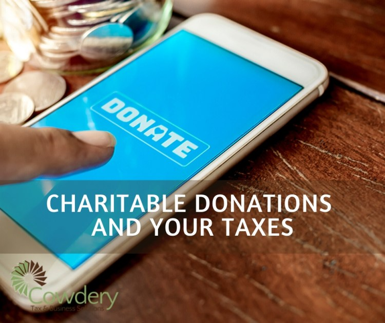Charitable Donations and Your Taxes   CowderyTax.com #taxes