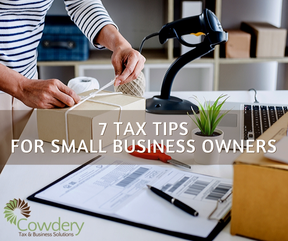 Tax Tips for Small Businesses | CowderyTaxc.om #taxes #bookkeeping #smallbusiness #entrepreneurship