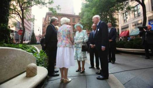 Her Majesty Queen Elizabeth II The British Memorial Garden Trust