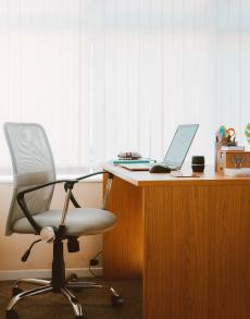 An office desk in your virtual registered office