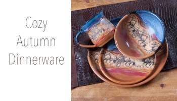 Cozy Autumn Dinnerware