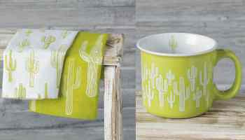 Cactus home accessories from Rod's