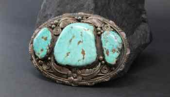 cowgirl turquoise statement buckles