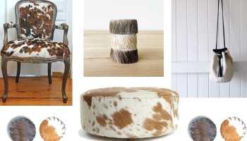 cowhide accessories