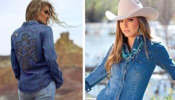denim tops cowgirl magazine