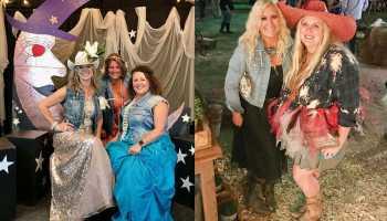 junk gypsy junkorama junk o rama junk-o-rama prom prom night prom dress zapp hall round top texas tx antique week antiques cowgirl magazine amie Jolie