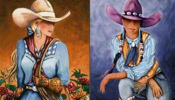 doreman burns cowgirl magazine