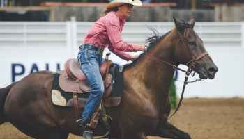 """Cowgirl Magazine"" - Saddle Pad"