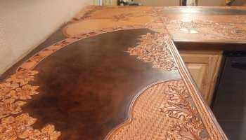 kosel saddlery tooled leather countertops cowgirl magazine