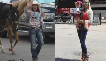 Calgary stampede style fashion posse cowgirl magazine rodeo fashion western fashion