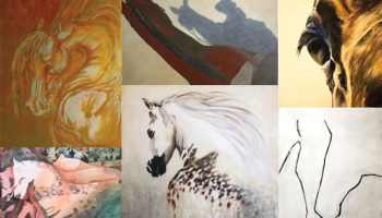horse art from various artists cowgirl magazine