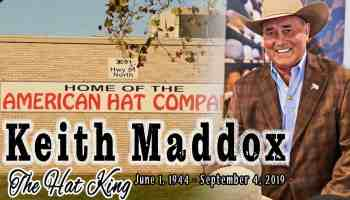 american hat company Keith Maddox the hat king